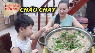 Món ăn chay: Cháo Nấm Nước cốt dừa ( Cháo Bồi) #namviet