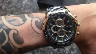 Unboxing the £10 CURREN watch - Impressive budget watch review