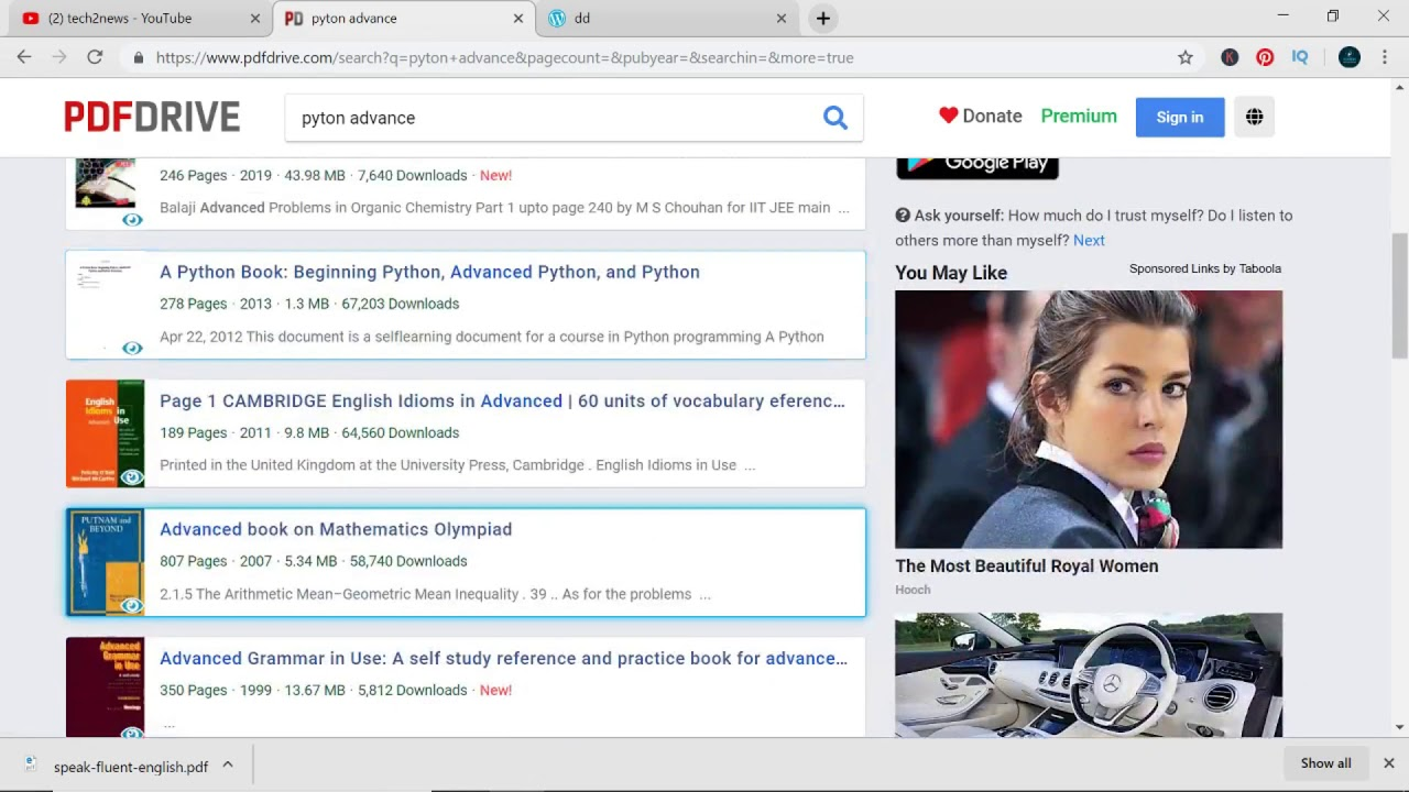 how to download Any Book For Free In Pdf | Kisi bi book ko Download kaise  kare | Tech2news