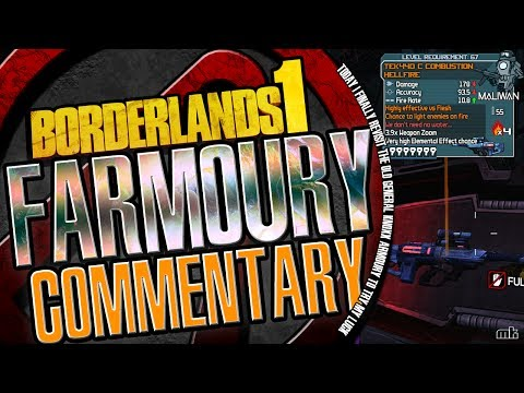 Borderlands 1 | Armoury looting Run | Old Fashioned Commentary