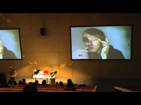 Momus performative lecture