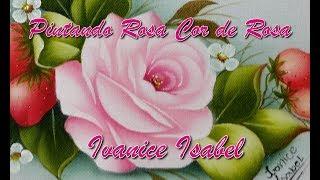 Pintando Rosa Cor de Rosa