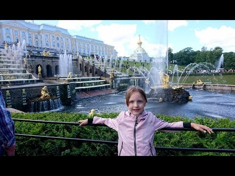 Питер-2019 (Петергоф ,обзорная экскурсия СПБ )