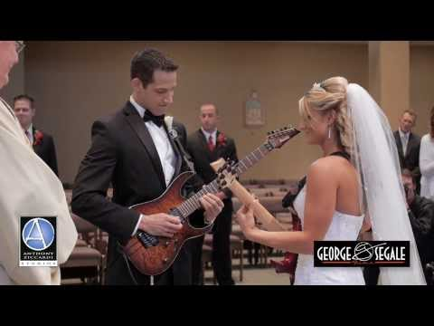 Guitar Bride and Groom: Fun and Unique Church Ceremony Wedding Entrance- Canon in D