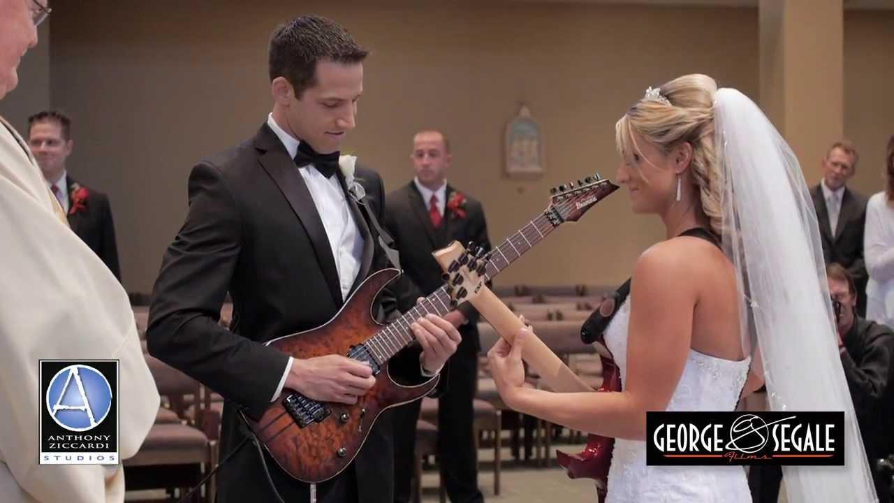 Guitar Bride and Groom: Fun and Unique Church Ceremony Wedding ...