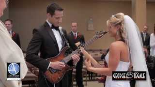 Guitar Bride and Groom: Fun and Unique Church Ceremony Wedding Entrance- Canon in D thumbnail