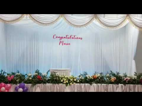 First Holly Communion Decoration Youtube