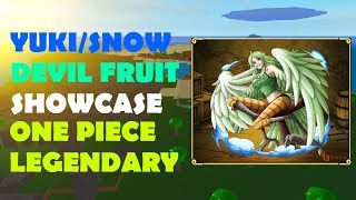 [OPL] ONE PIECE LEGENDARY | Yuki/Snow Devil Fruit Showcase |ROBLOX ONE PIECE GAME| Bapeboi
