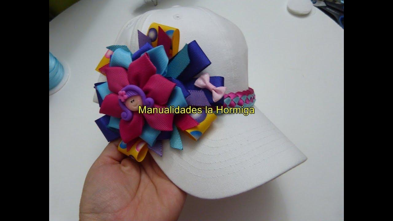 Caps with bows and flowers youtube - Como decorar una buhardilla ...