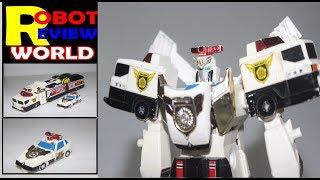 ジェイデッカー 勇者警察ジェイデッカー STD J-DECKER review by Robot Review World J-Decker toy review | Brave Police J-Decker STD Toy by Robot Review ...