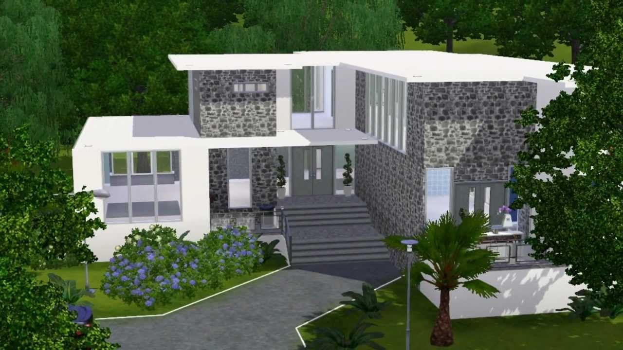 Casa 13 the sims 3 youtube for Casas modernas the sims 4