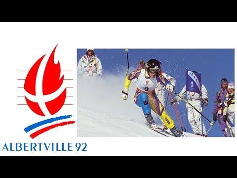 1992 Winter Olympics - Women's Giant Slalom