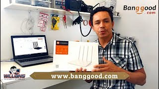 Review Roteador Xiaomi Mi Router 3G Dual Band, Bangood.com