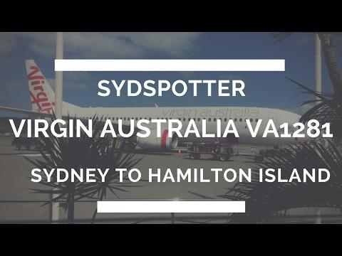 *NEW* VIRGIN AUSTRALIA TRIP REPORT SYDNEY-HAMILTON ISLAND