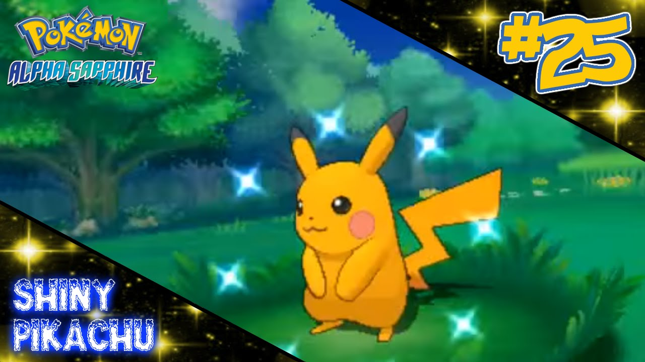 [LIVE] Accidental Shiny Pikachu in Alpha Sapphire after 60 ...