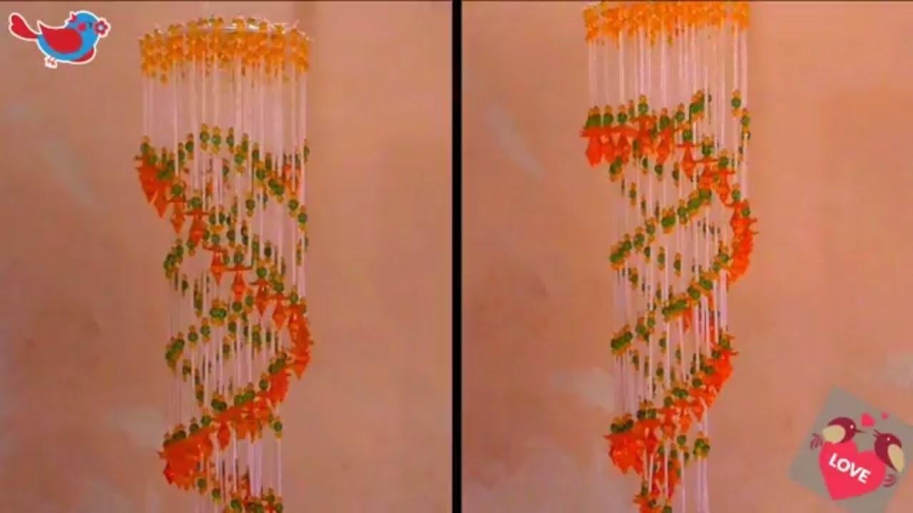 Captivating How To Make Jhumar | Jhumar Banane Ka Tarika | Wall Hanging Ideas At Home