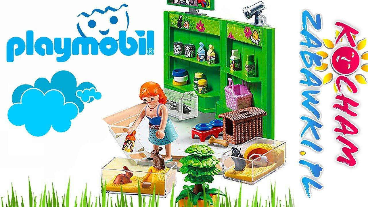 Playmobil City Life • Pasaż handlowy • Zakupy w sklepie zoologicznym • bajki po polsku