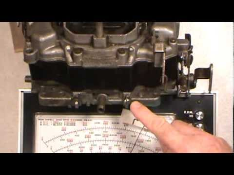 Idle Mixture Adjustment on 4 Barrel and 2 Barrel Carburetors