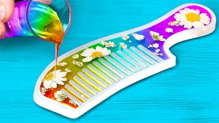 Cute And Beautiful Epoxy Resin Crafts || Home Decor Ideas, DIY Jewelry And Accessories