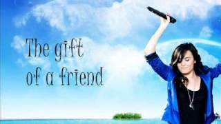 The Gift Of A Friend Demi Lovato Lyrics