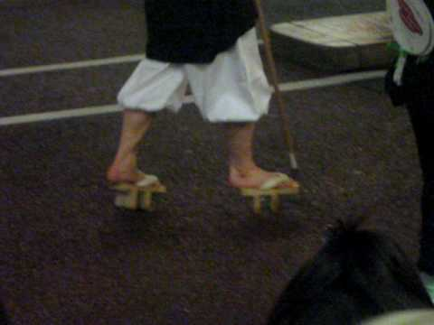 Traditional Japanese Shoes Geta Youtube