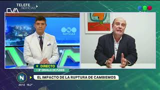Telefe CBA Internas Cambiemos Eduardo Bocco