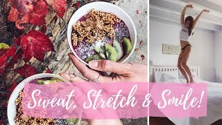 WHAT WE EAT, WORKOUTS & YOGA | COME TO MY FIRST RETREAT!