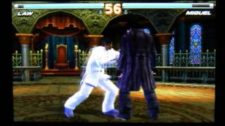 Tekken 3D Prime Edition Nintendo 3DS Gameplay Video Law + Lee + Bruce ++ NICE ++