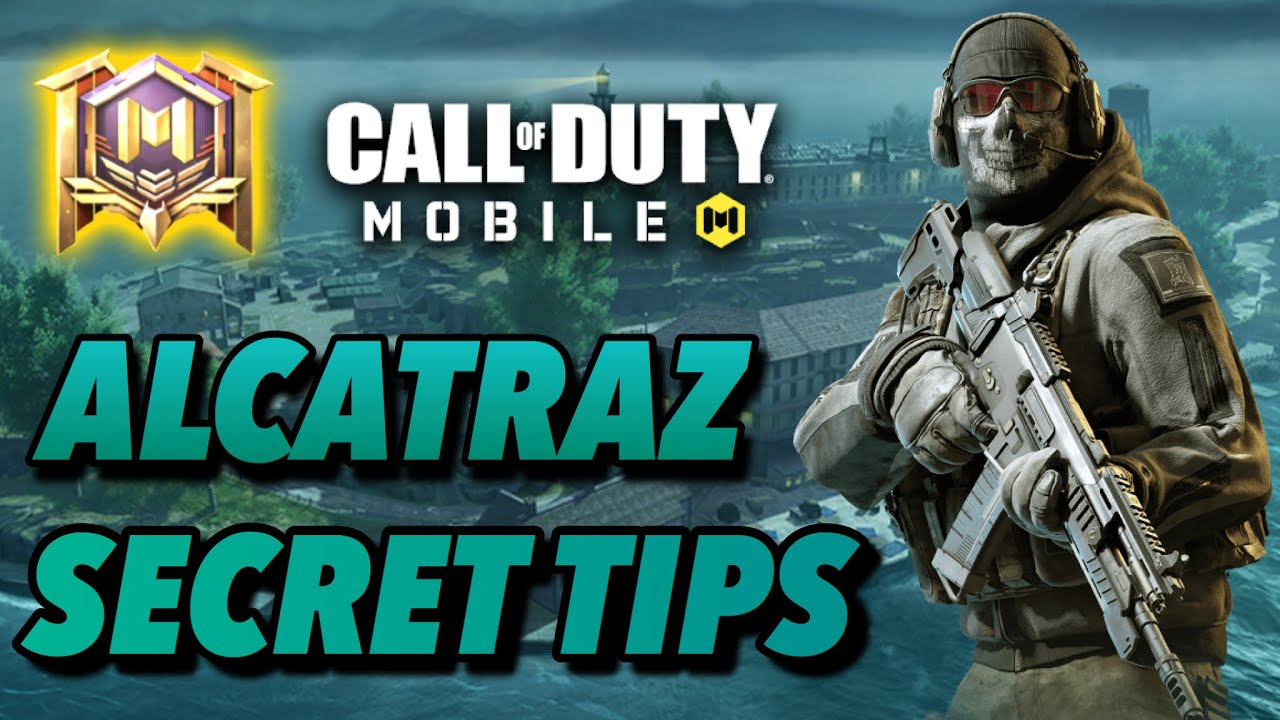 HOW TO WIN EVERY GAME IN ALCATRAZ IN CALL OF DUTY MOBILE BATTLEROYALE