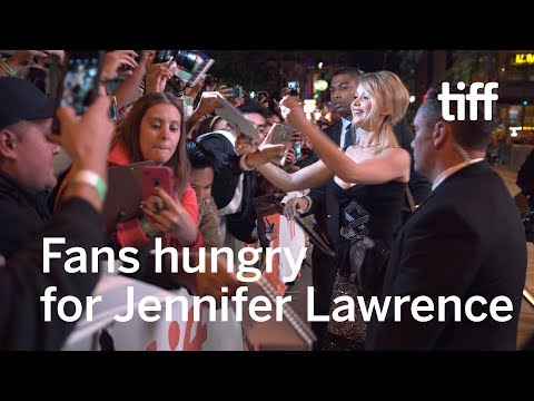 Jennifer Lawrence Causes Chaos on the Red Carpet | TIFF 2017