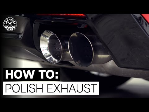 How To Easily Polish Exhaust Tips! |Camaro ZL1|  - Chemical Guys