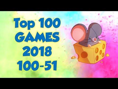 Top 100 Games Of 2018, 100-51
