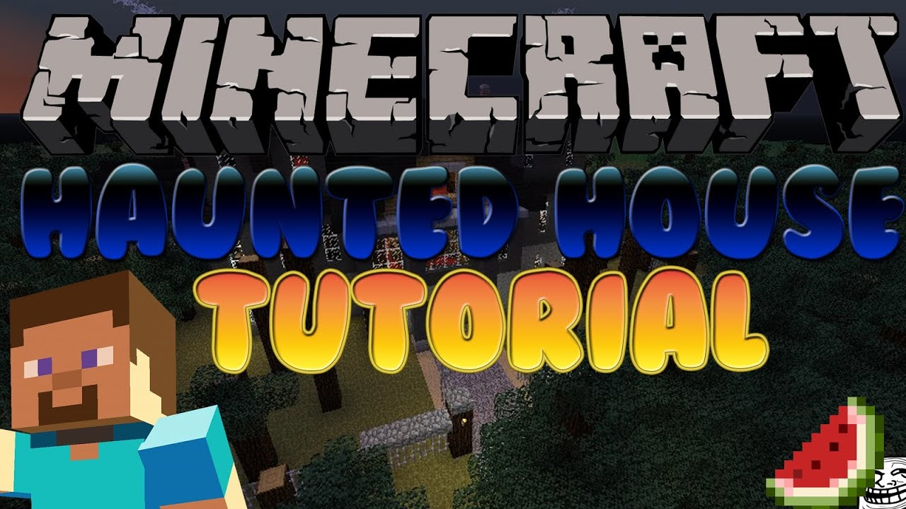 Minecraft how to build a haunted house minecraft xbox360 for Build a haunted house