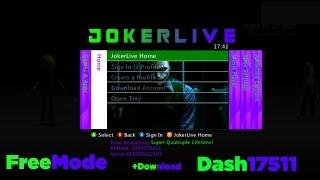 JokerLive Stealth Server Dash 17511 [FreeMode:Off] +Download RGH/JTAG