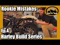 "Harley Iron 883 Sportster ""Build"" Series - Ep.4 Fender/Wheel Removal & Motorcycle Lift!"