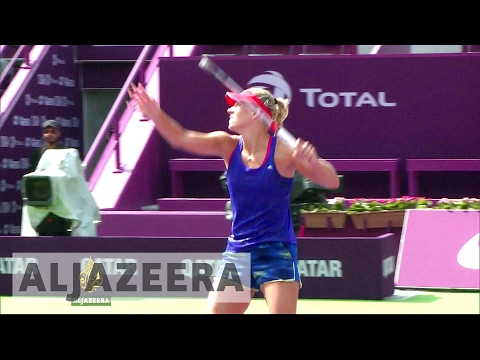 Germany's Kerber looks to cash in on tennis success