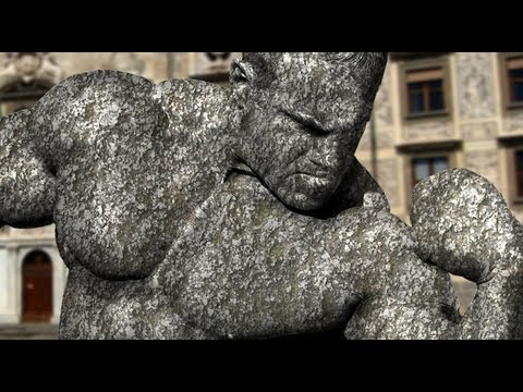 Photoshop Tutorial: How To Transform Someone Into A Stone