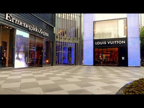 Ermenegildo Zegna & Louis Vuitton in Shanghai