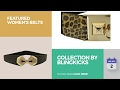Collection By Blingkicks Featured Women's Belts
