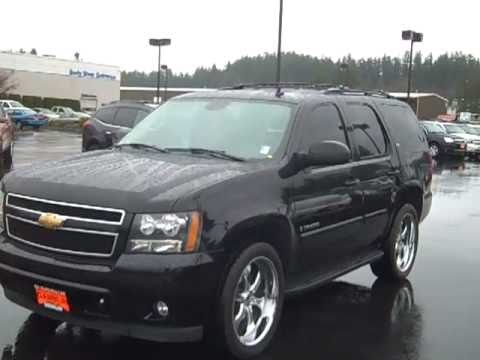 2007 Chevrolet Tahoe Ltz 4wd Black Art Gamblin Motors V2107 Youtube
