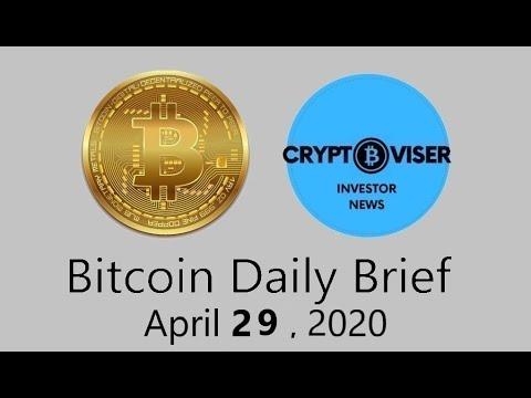 Bitcoin Daily & Cryptocurrencies Pump – April 29, 2020