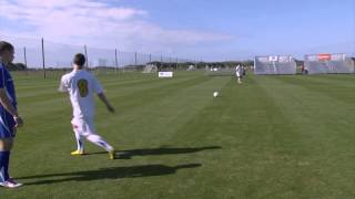 Two Touch Demonstration - Center Back Training by IMG Academy Soccer (4 of 4)