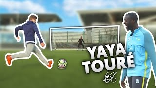 THE COMPLETE PENALTY CHALLENGE VS YAYA TOURE