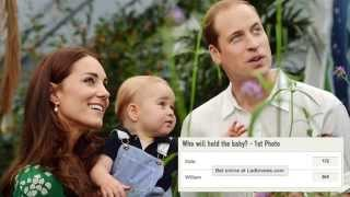 Royal baby heats up UK bookmakers as betting soars