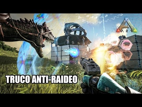 TUTORIAL ANTI RAIDEO Y TRUCOS PARA EMPEZAR | ARK SURVIVAL EVOLVED PS4 GAMEPLAY ESPAÑOL