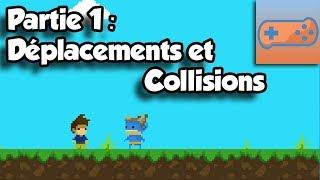 Créer son jeu de plateforme avec Game Maker 2 - Part 1 : Déplacements et Collisions