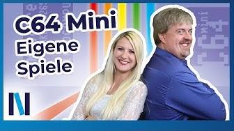 C64 Mini: So lädst du eigene Spiele (deutsch)