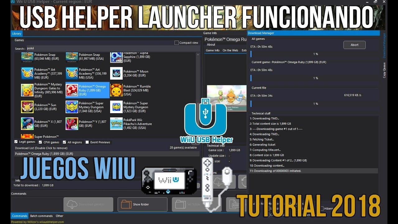 descargar juegos para wii en usb 2018