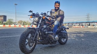 Morning Ride after long time on HARLEY Forty Eight !!