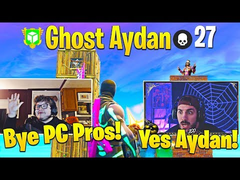 NICKMERCS and Ghost Aydan DESTROY PC Pros Together! (Best Console Players on Fortnite!)